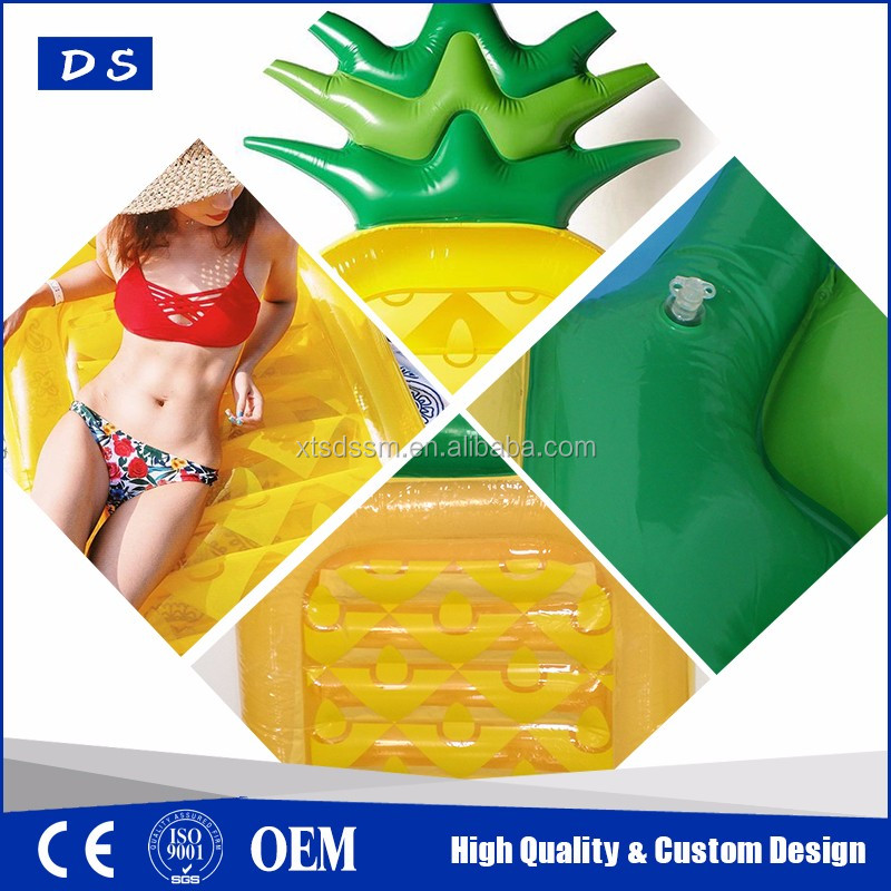 Hot selling Inflatable Pineapple pool float summer party raft