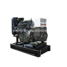 water cooled 30KW Shanghai diesel generators with strong power
