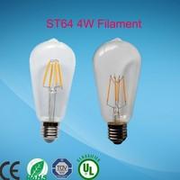 A19 E26 8w Led Filament Bulb 75 Watt Equivalent 2700k 800 Lumen Soft Yellow Light Household Light Bulb Clear