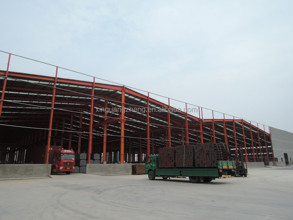 Prefabricated light steel structure warehouse industral sheds