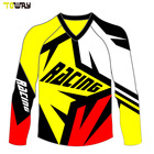 custom sublimated motocross jersey blank fabric