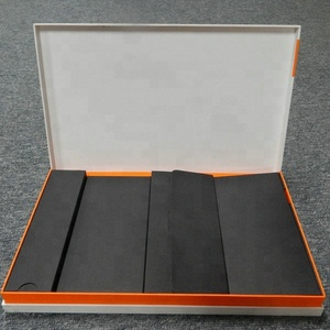 Luxury design foldable cardboard for panel personal computer the Foam packing