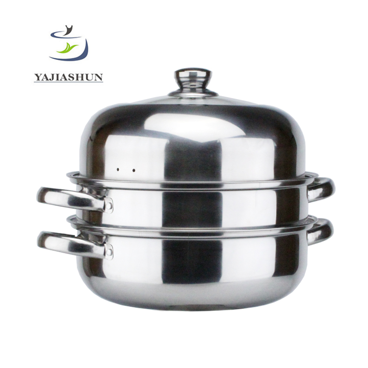 Hot Sale 28CM Stainless Steel Steam Pot Cooking /Dumpling Steamer