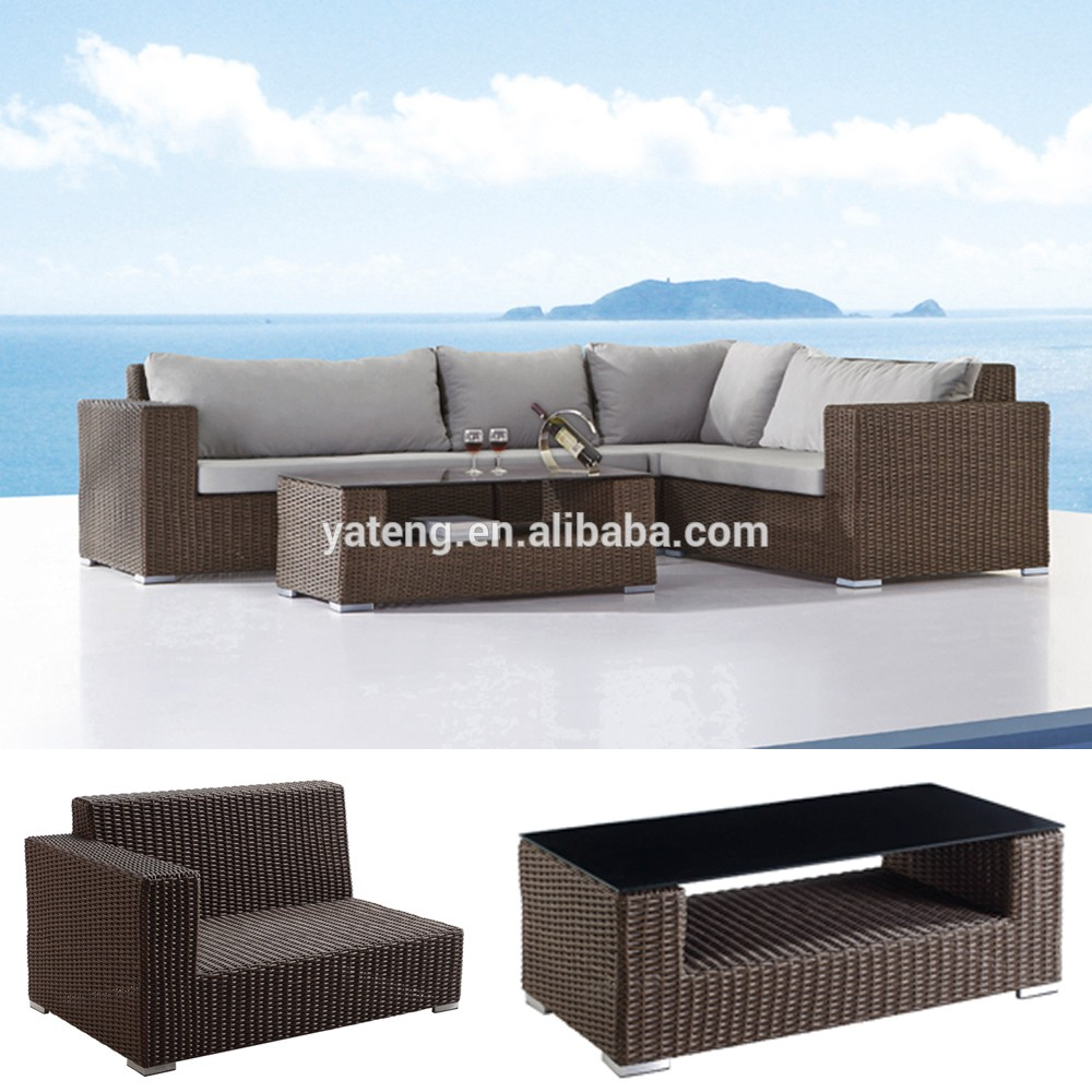 All weather wicker sun lounge chair outdoor furniture for All weather wicker chaise lounge