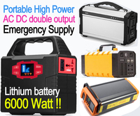 Uninterruptible Power system AC and DC laptop phone solar charge power provider