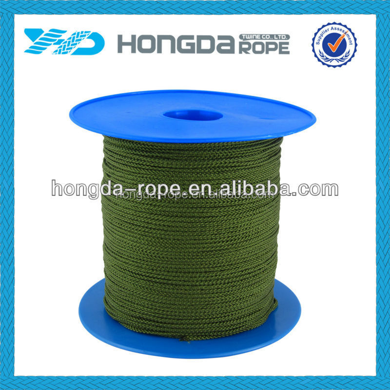 Super Soft Strong silk braided rope in spool