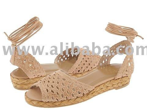 Zapatos de cuña de la alpargata de yute/sandalias