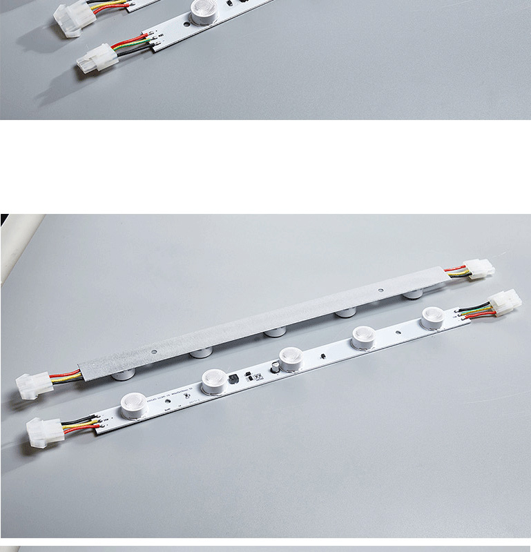 Famous brand high power bright rigid 3W SMD 3535 LED strip edgelight bar for single and double sides illumination lighting