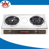 2 burner CE Approved oem sand casting gas cooker supportingin china