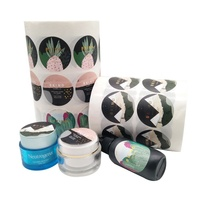 Customized Made Cosmetic Skin Care Packaging Professional Product Labels For Bottels