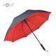 Chinese Factory High Quality Sun Shade Windproof Double Layer Pongee Fabric Big Golf Umbrella