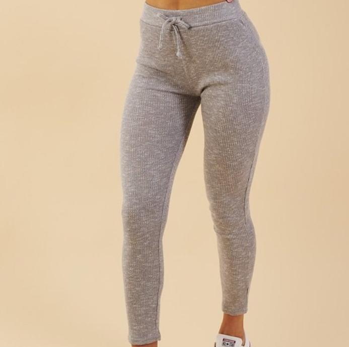 Customize High Quality Waistband Rib Fabric Gym Wear Fitness Women Sport Clothes Yoga Leggings Pants