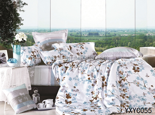 High Quality Luxury French Style Bedroom Set/bedspread Fabric/american Style Bedding Set