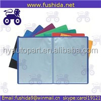China manufaturer vertikal 7 saku memperluas file folder