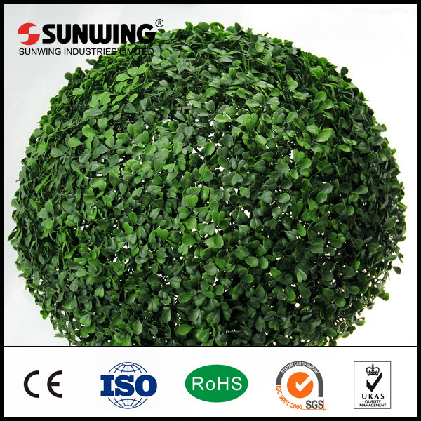 outdoor faux artificial palm leaves boxwood hedges