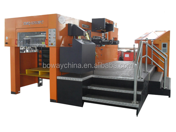 Automatic Flat Bed and Foil Stamping Hologram Die Cutting