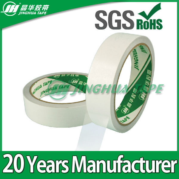 DS80 80 Micron Tissue Paper Coated Hot Melt adhesive double side tape for glass