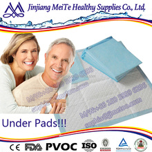 adult bed pads disposable under pad for hospital high qiuality cheap price