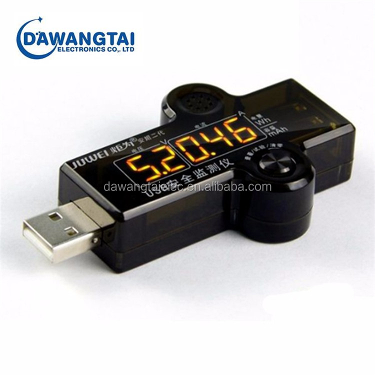 Security Monitor USB Current Voltage Capacity Tester