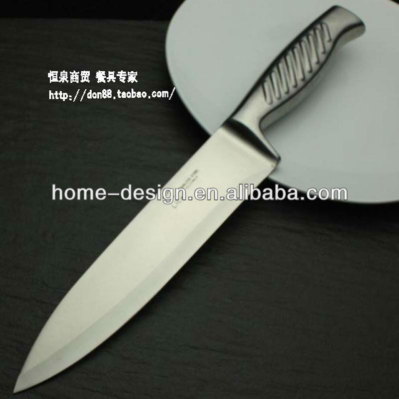 hollow handle stainless steel kitchen 8 inch chef knife