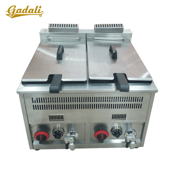 High quality gas fryer machine fried chicken