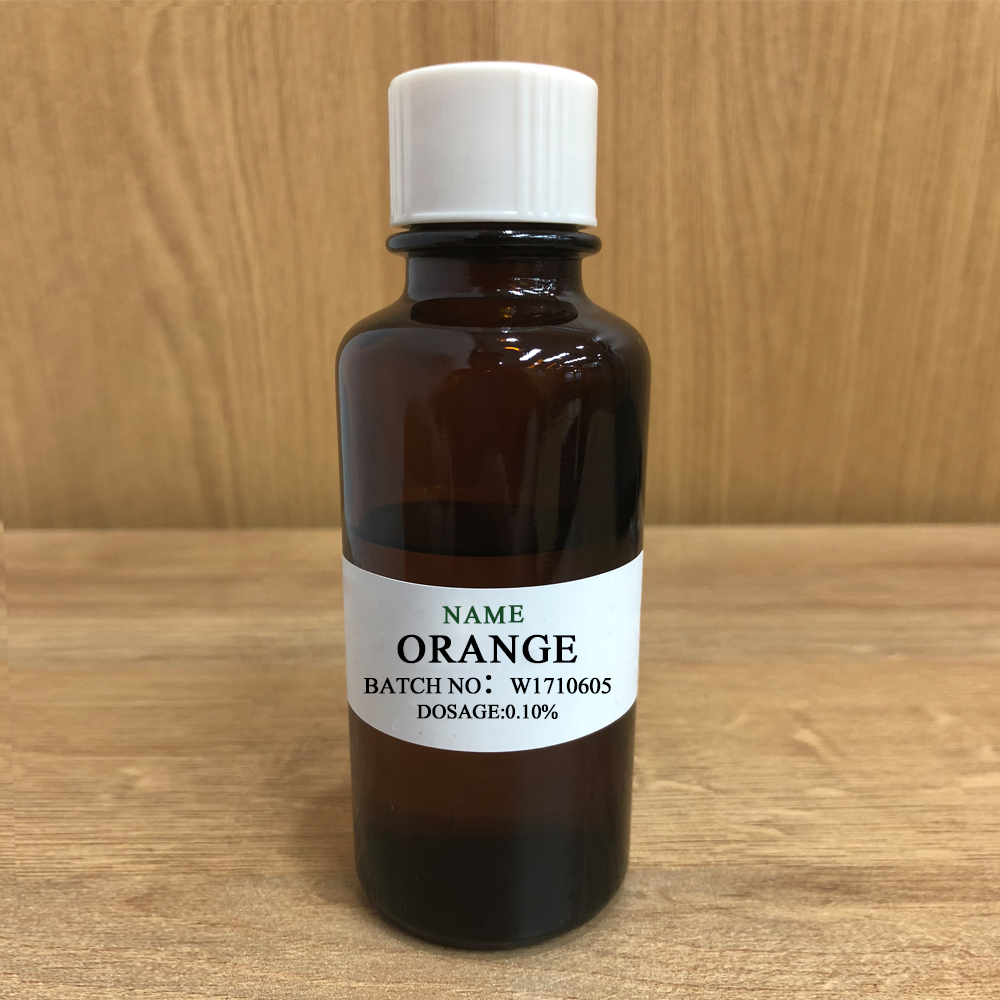 <strong>ORANGE</strong> Long lasting fragrance application for liquid dishwasher detergent sweet fragrance