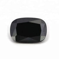 Perfect Cut Cubic Zirconia Black Rectangle Cushion Gemstone