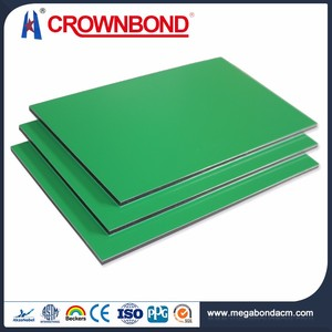 Crownbond Best Quality ACP/ACM aluminum sandwich panel alucobond prices