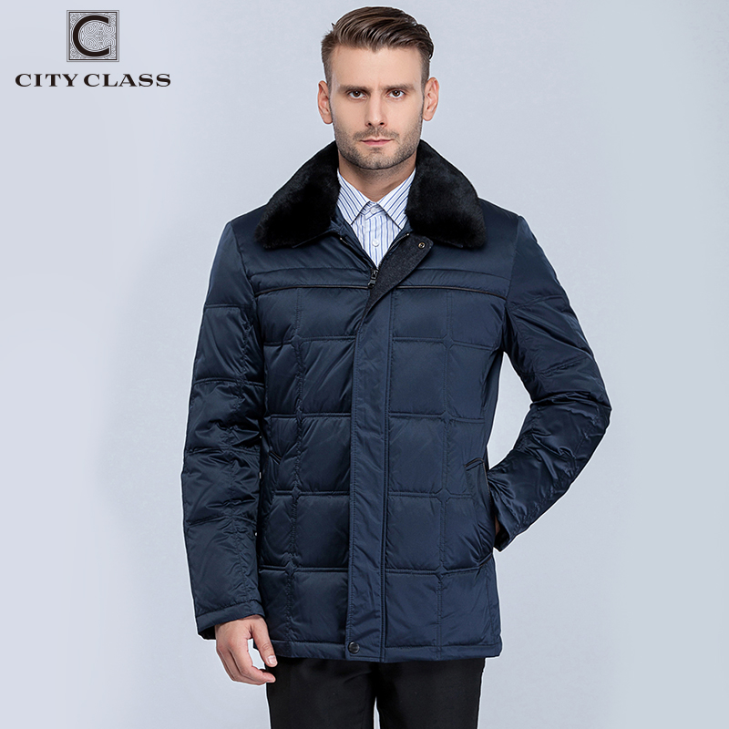 15378 Fashion High Quality Man Coat Jackets New Model Casual Warm Removable Rex Rabbit Fur Collar Winter Men Jacket
