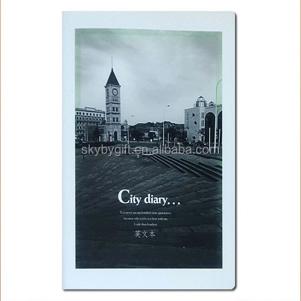customized student city covers soft cover notebook