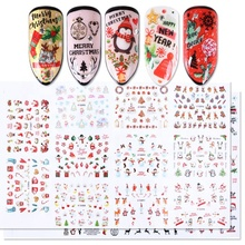2019 populaire nail art water decals/nail water stickers, water nail decals, nail stok met gel polish