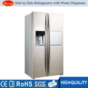 big capacity side by side refrigerator double sided refrigerator