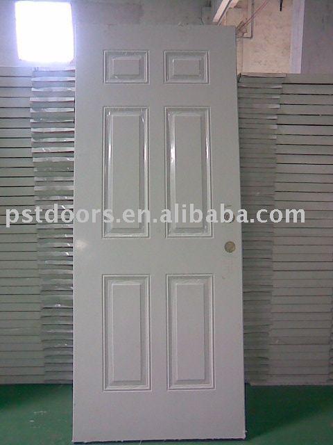 Isra l style 6 panneau de porte int rieur et ext rieur for Porte metallique exterieur