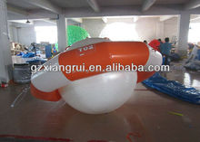 Custom Funny Water Saturn Inflatable Rocking Boats, Inflatable Water UFO Seesaw for Water Game