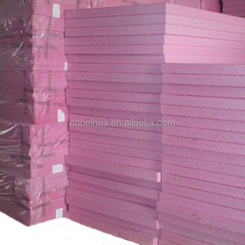 Rigid XPS Foam Board For Exterior Walls Thermal Insulation Material