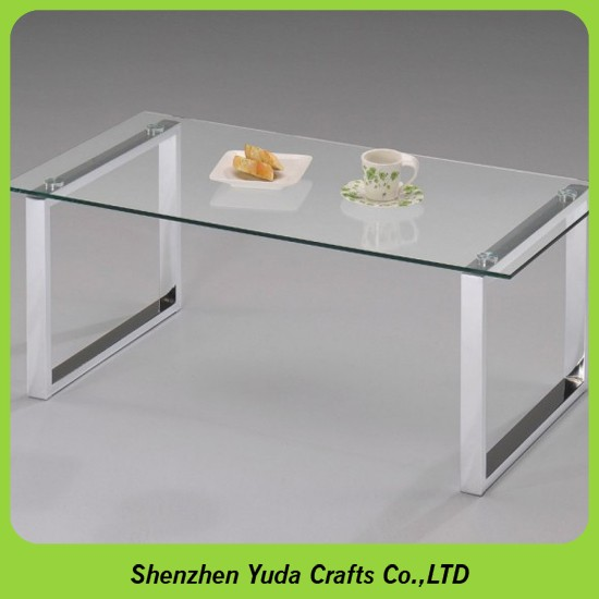 Modern Plexiglass Couch Table Organic Glass Coffee Tables Clear Acrylic Vanity  Table