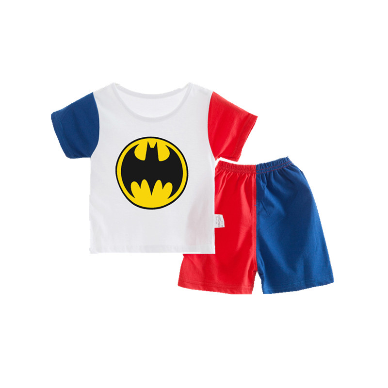 100% Cotton Baby Boys Girls Clothing Set Shirt + Pants Set Cartoon Clothes Casual Suits 6 Design 2015 Summer Style