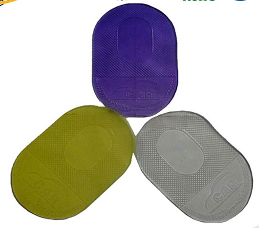 Silicone Car Anti-slip Pad, Customized Logos are Welcome