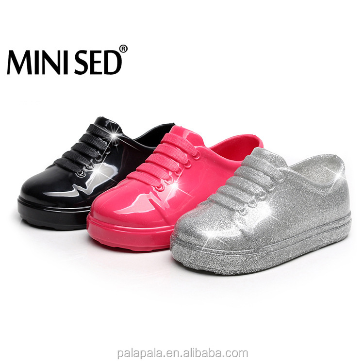 Minised Cute Bows Jelly Girls Sandals
