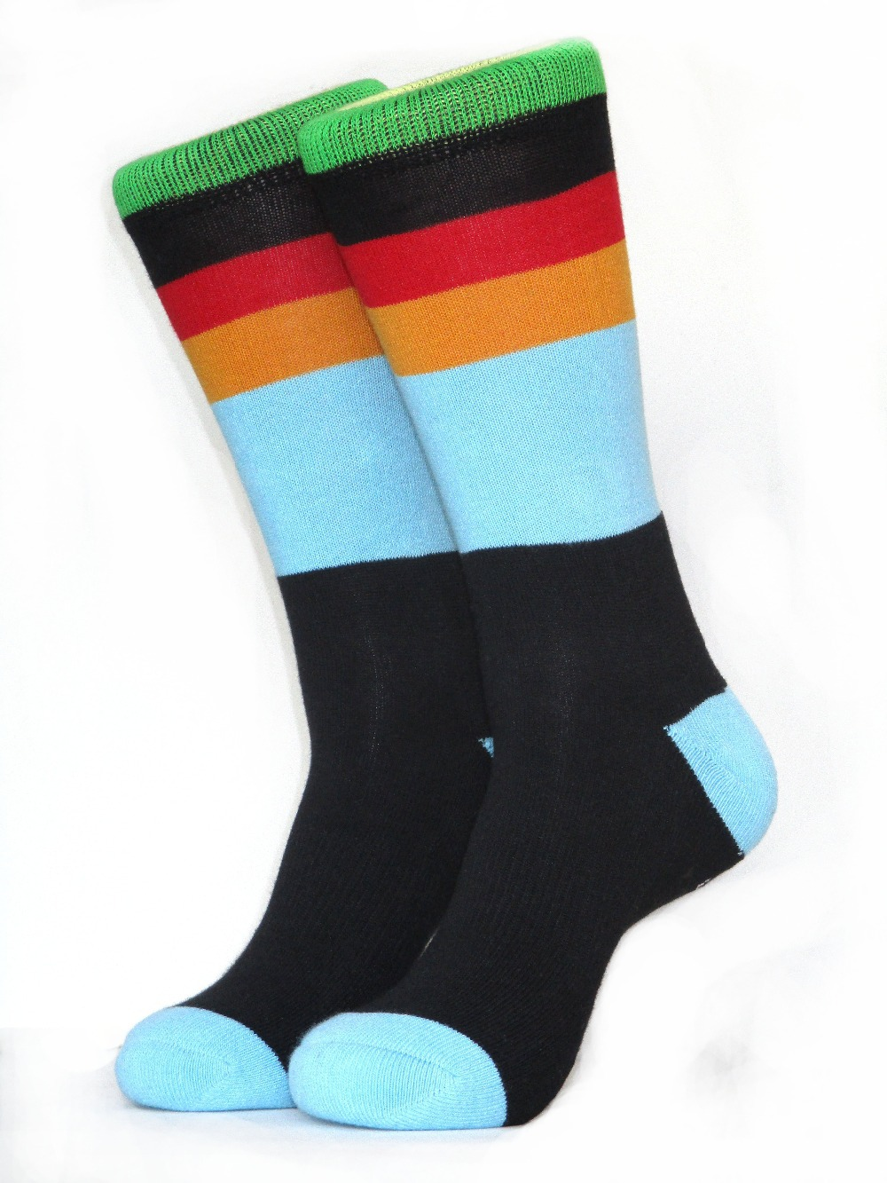 Fashion strip hit color STANCE odd future skate socks towel bottom summer style basketball socks men's brand happy socks X108