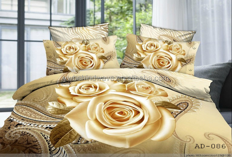 Big Flower Design Custom Printed Indian 3d Cotton Bed Sheet Wholesale Buy Flower Design Bed