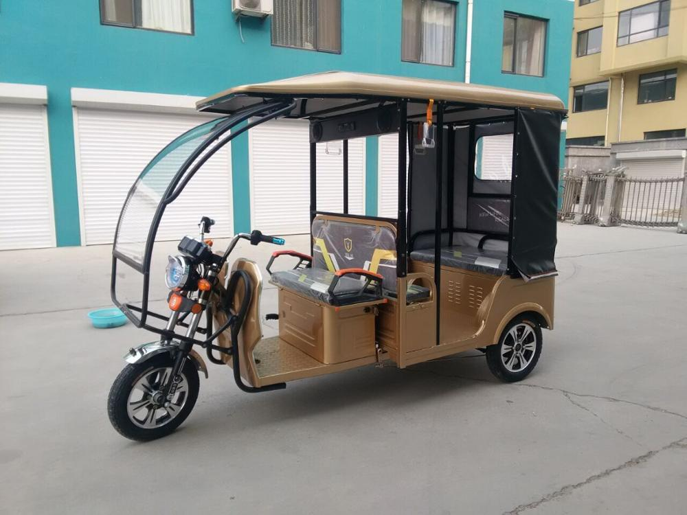 2017 New Model 4 6 Persons Auto Battery Rickshaw Electric