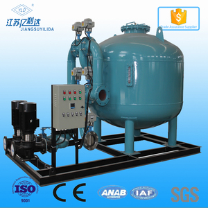 Automatic backwash bypass rapid sand filter media filters