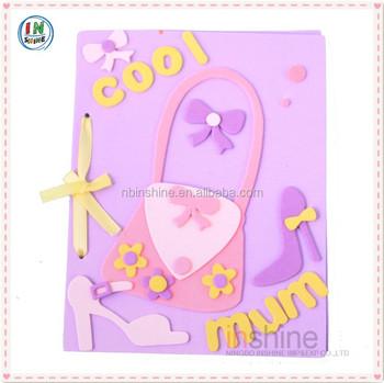 Eva foam diy greeting carddiy crad making kits buy handmade eva foam diy greeting card diy crad making kits m4hsunfo