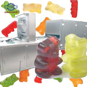 Gelatin Pectin Carrageenan Gummy Candy Making Machine Jelly