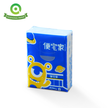 Wholesale Custom Logo Advertising Pocket Tissues