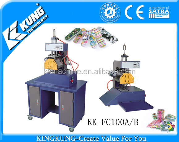 2D heat transfer printing machine for slipper soles