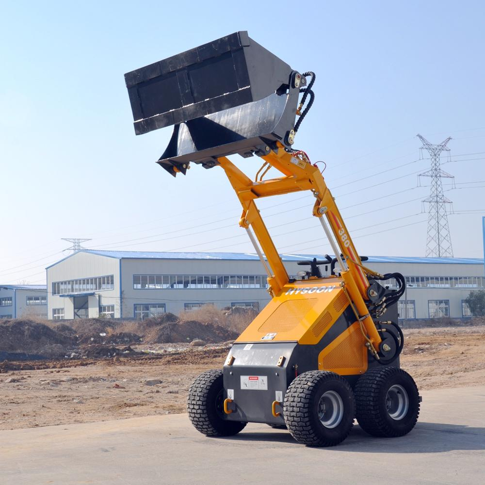 HYSOON skid steer loader/mini skid steer loader hy380