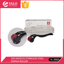 Derma roller/high quality YL-DR05 200 stainless steel Needles Derma Roller