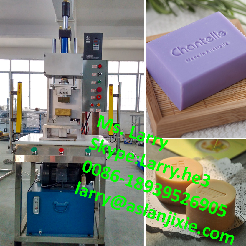 soap moulding machine/soap logo stamper/soap forming logo printing machine